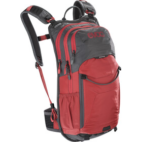 EVOC Stage Sac à dos Technical Performance 12 litres, carbon grey/chili red